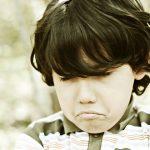 Angry, sad child