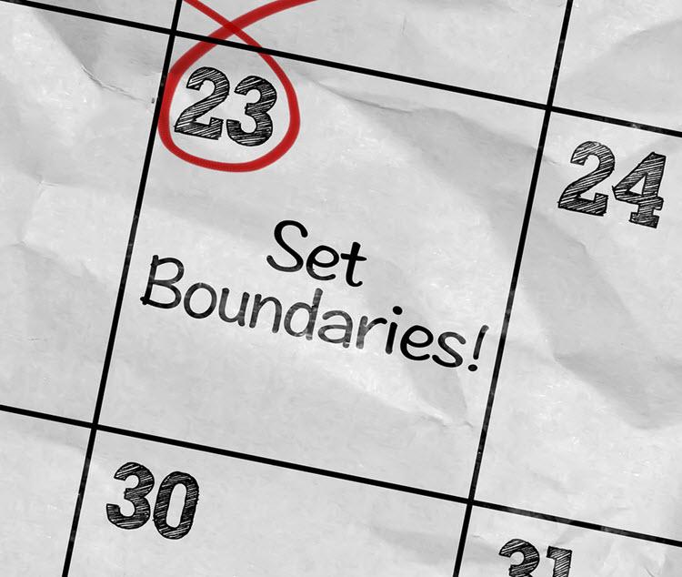 Caregivers Need to Set Boundaries
