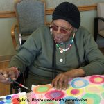 """Art knows no barriers, no boundaries. Art doesn't know or care if you are disabled or a person living with dementia."""