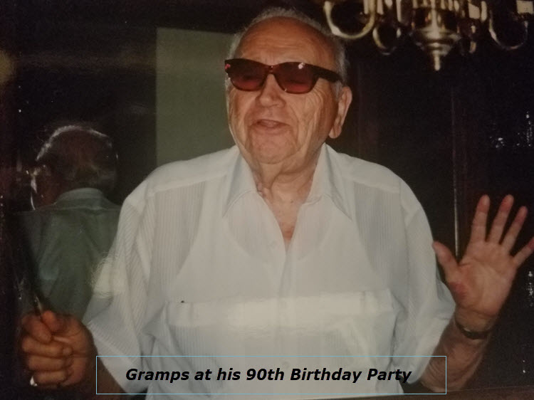 """Old Ain't Dead"" Gramps"