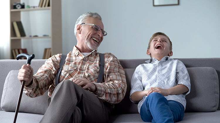 Shared Laughter Connects Us (not to mention the proven health benefits.)