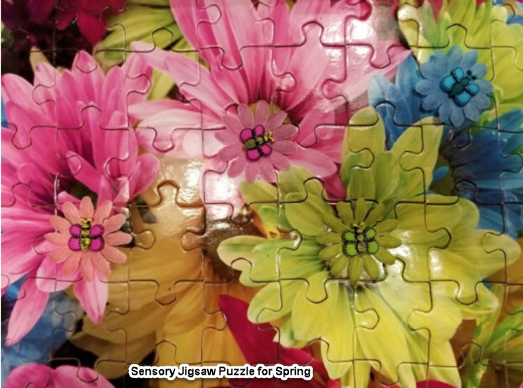 Puzzles can help an elder with increased dexterity, memory, socialization and meditation skills.